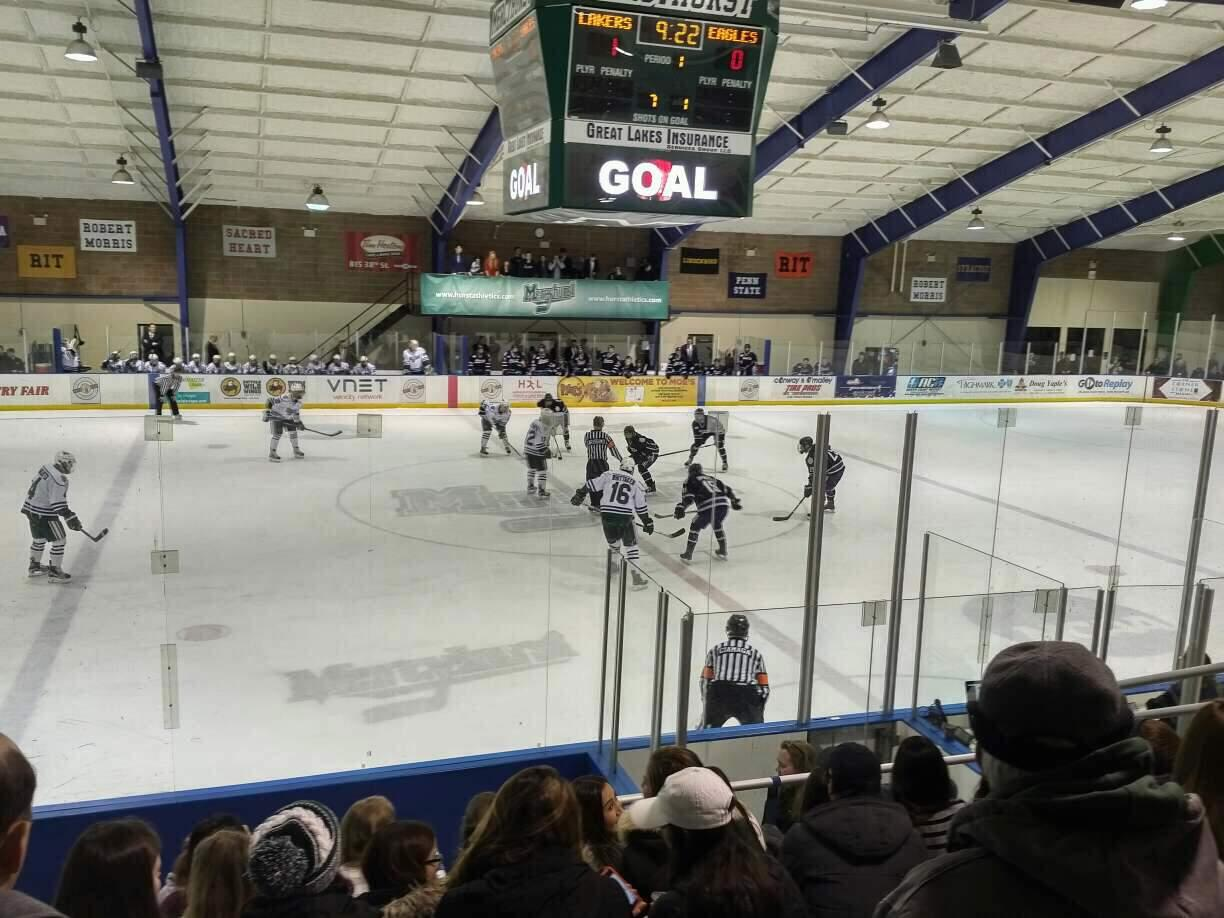 Mercyhurst Ice Center Section GA