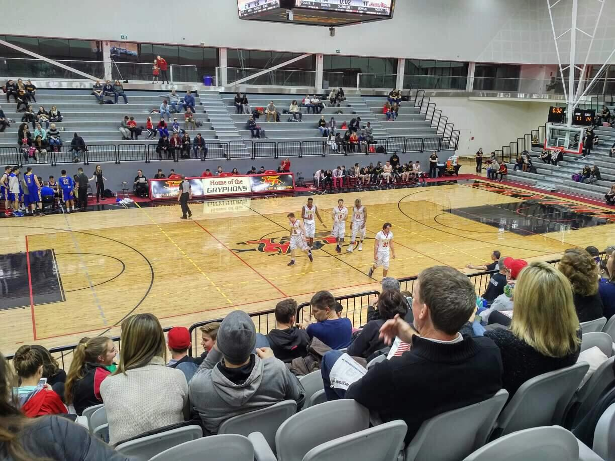 Guelph Gryphons Athletics Centre Section GA