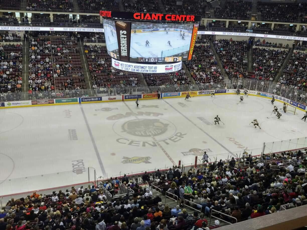Giant Center Section 219 Row A Seat 10