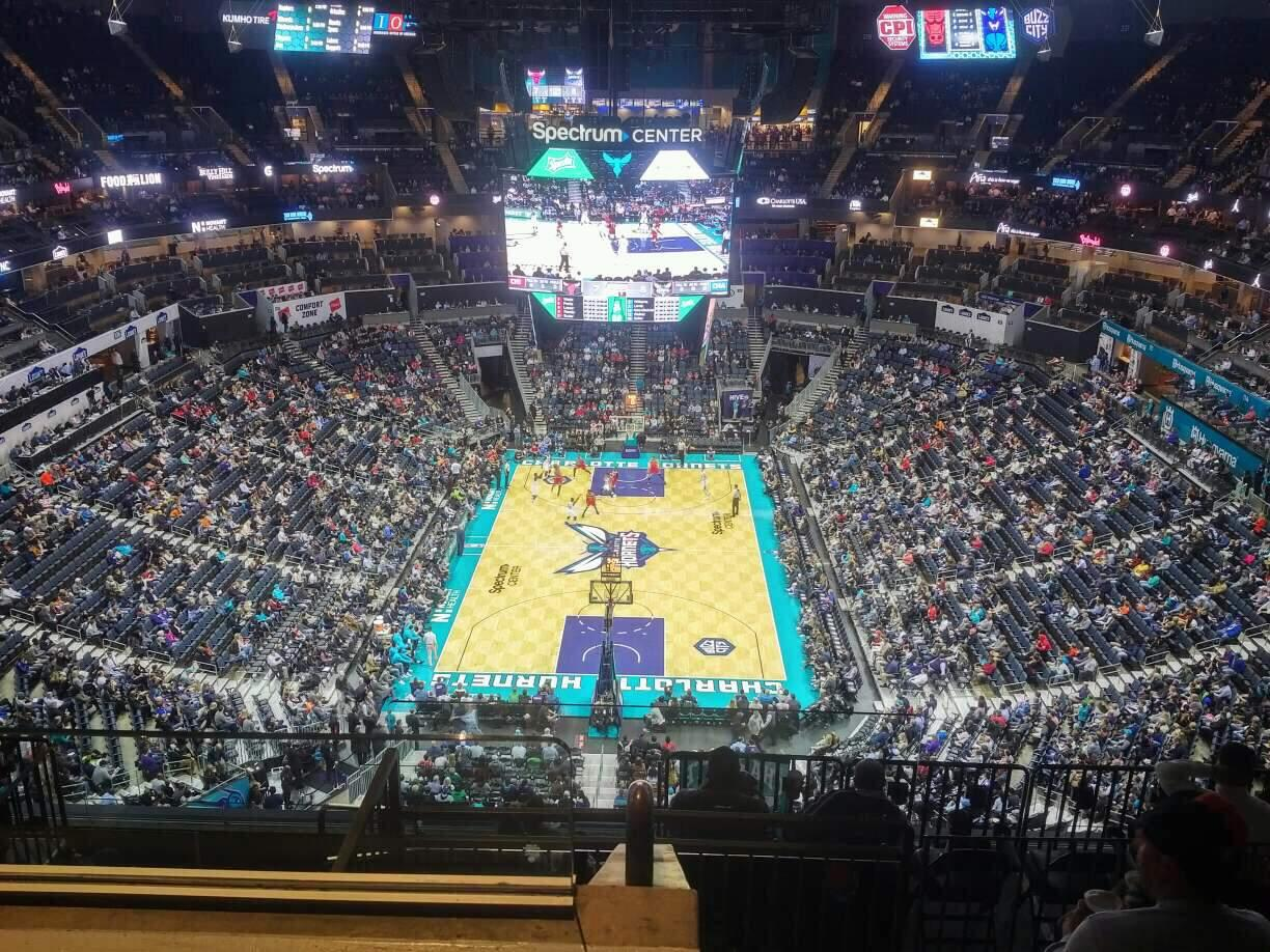 Spectrum Center Section 233 Row J Seat 21