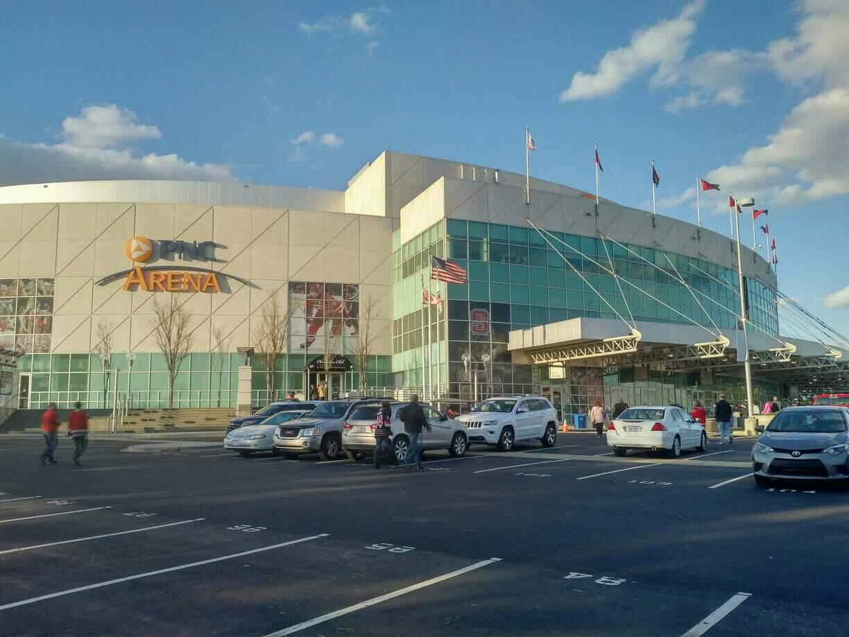 PNC Arena Section exterior