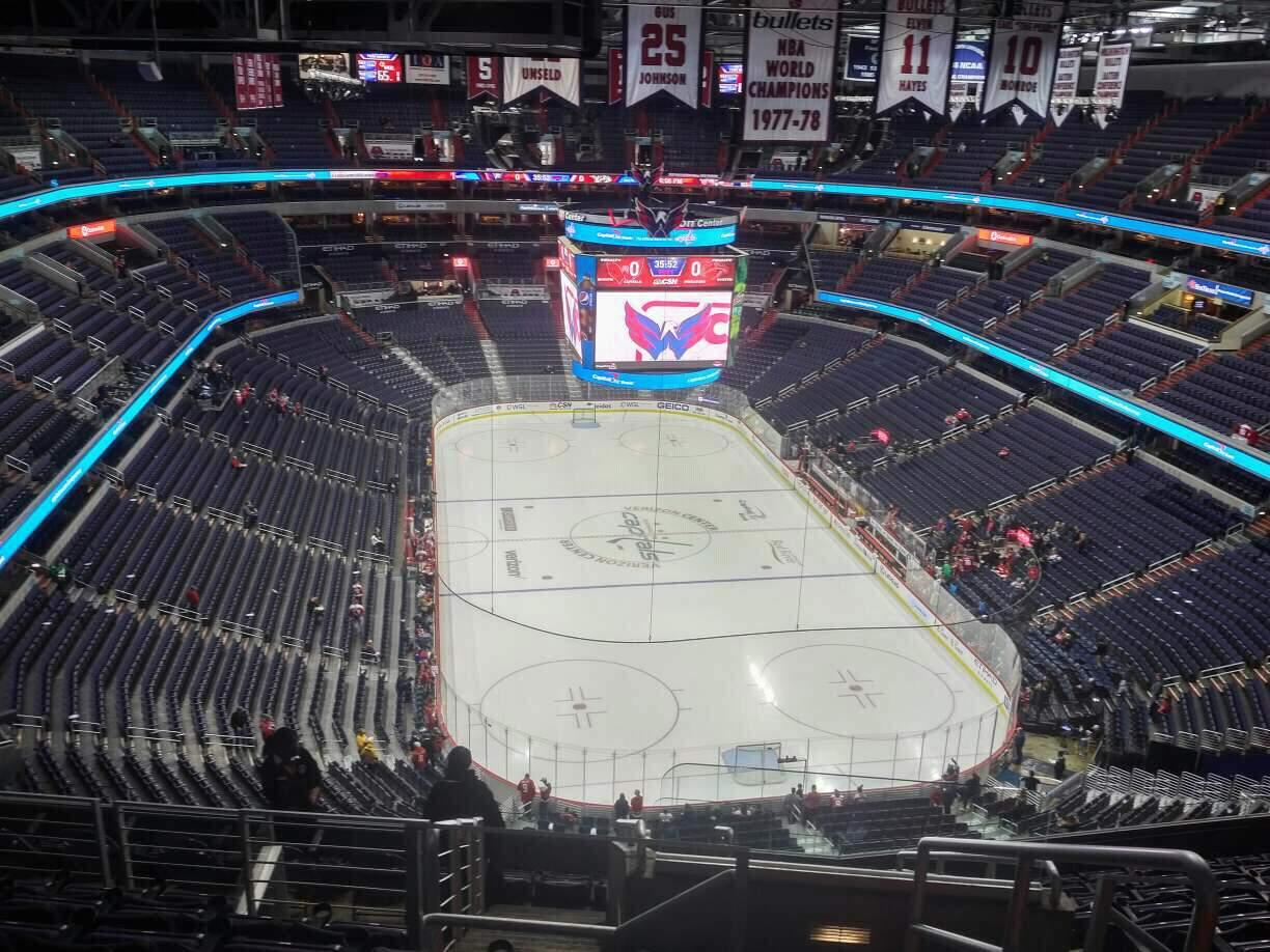 Capital One Arena Section 424 Row M Seat 20