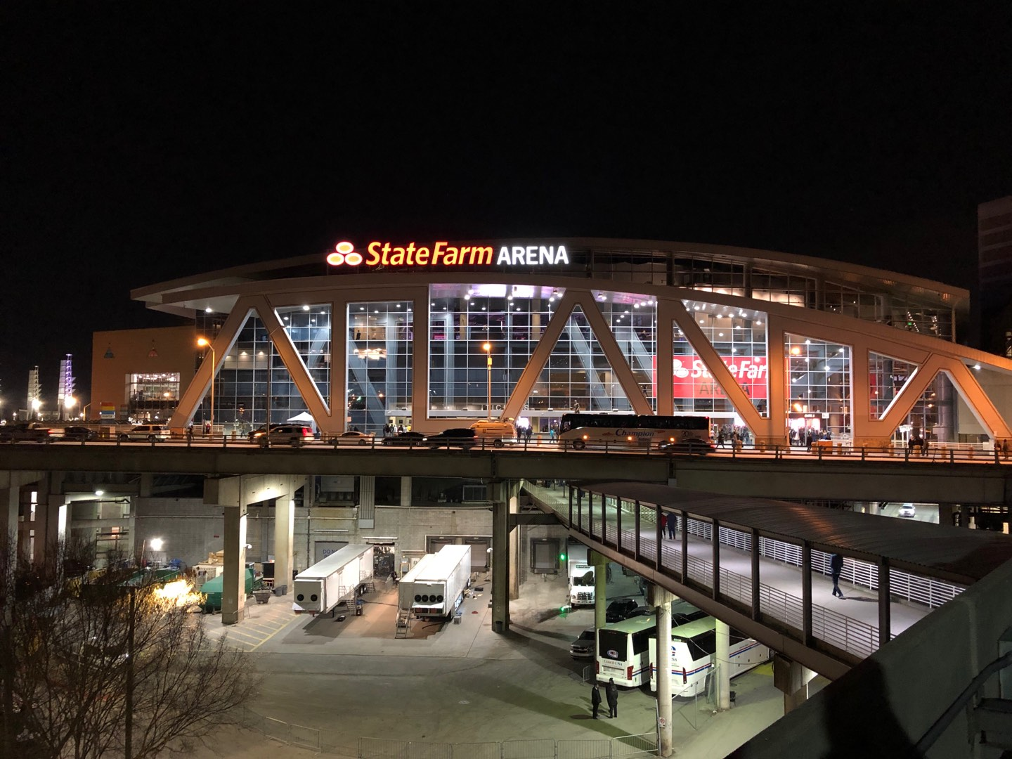 State Farm Arena Section Exterior