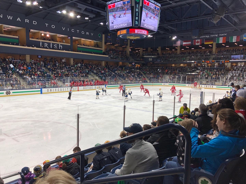Compton Family Ice Arena Section 17 Row 7 Seat 4