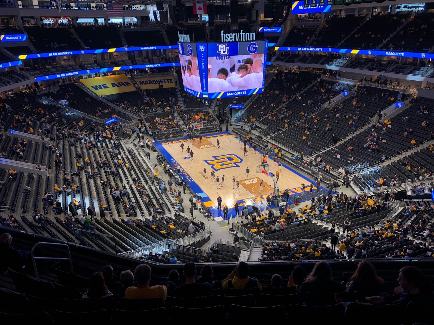 Fiserv Forum Section 217 Row 9 Seat 14