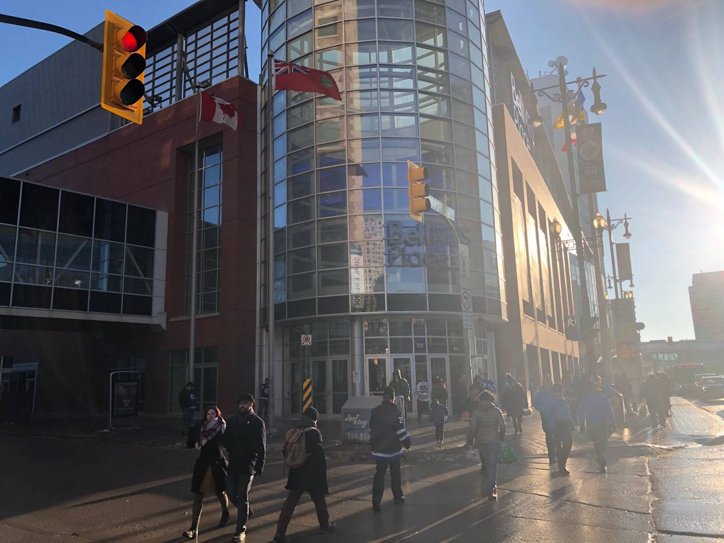 Bell MTS Place Section Exterior