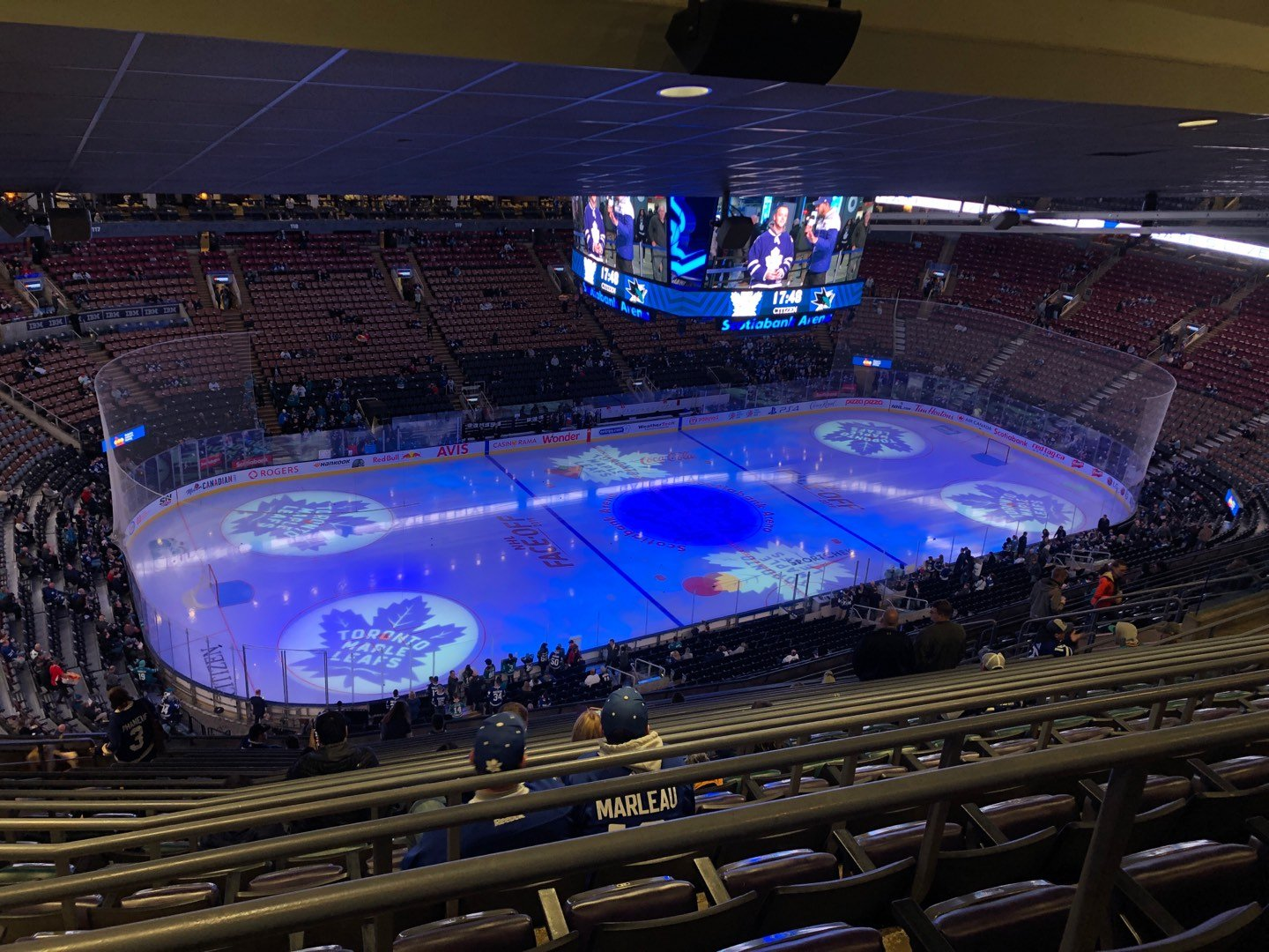 Scotiabank Arena Section 311 Row 17 Seat 24
