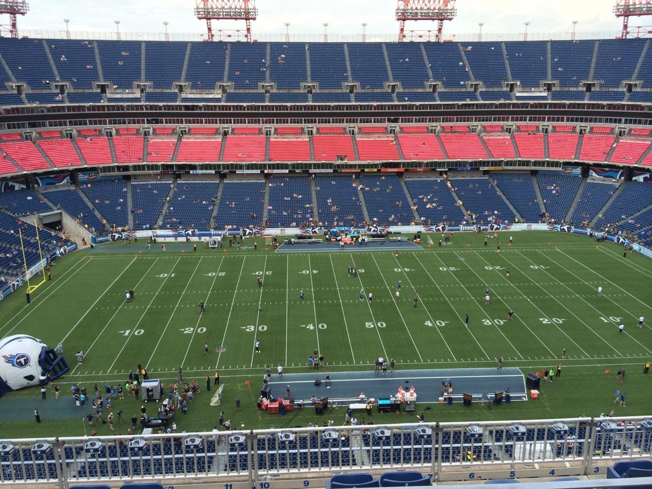 Nissan Stadium Section 336 Row K Seat 10 Tennessee