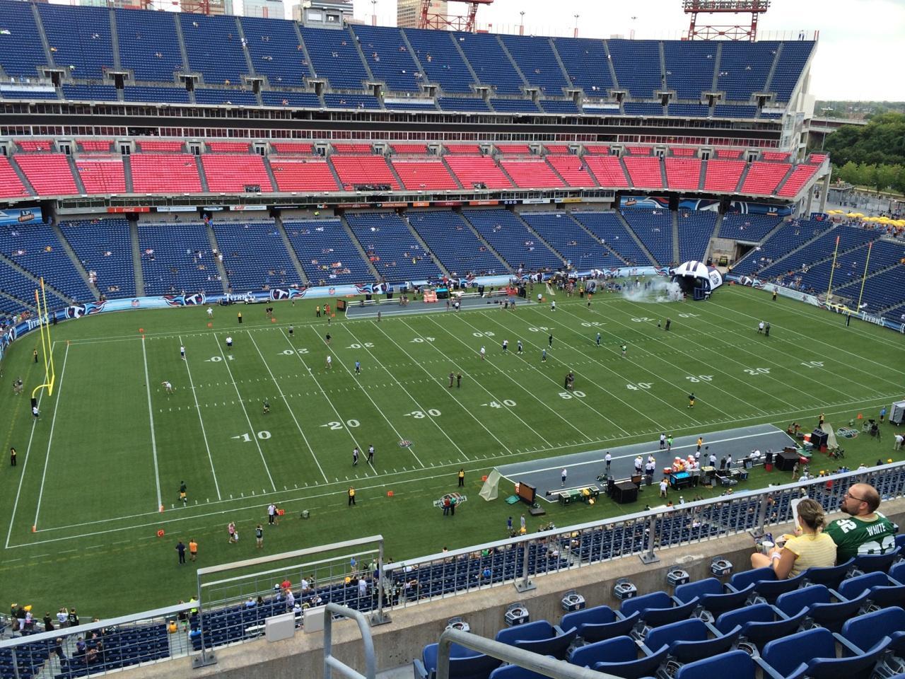 Nissan Stadium Section 315 Tennessee Titans