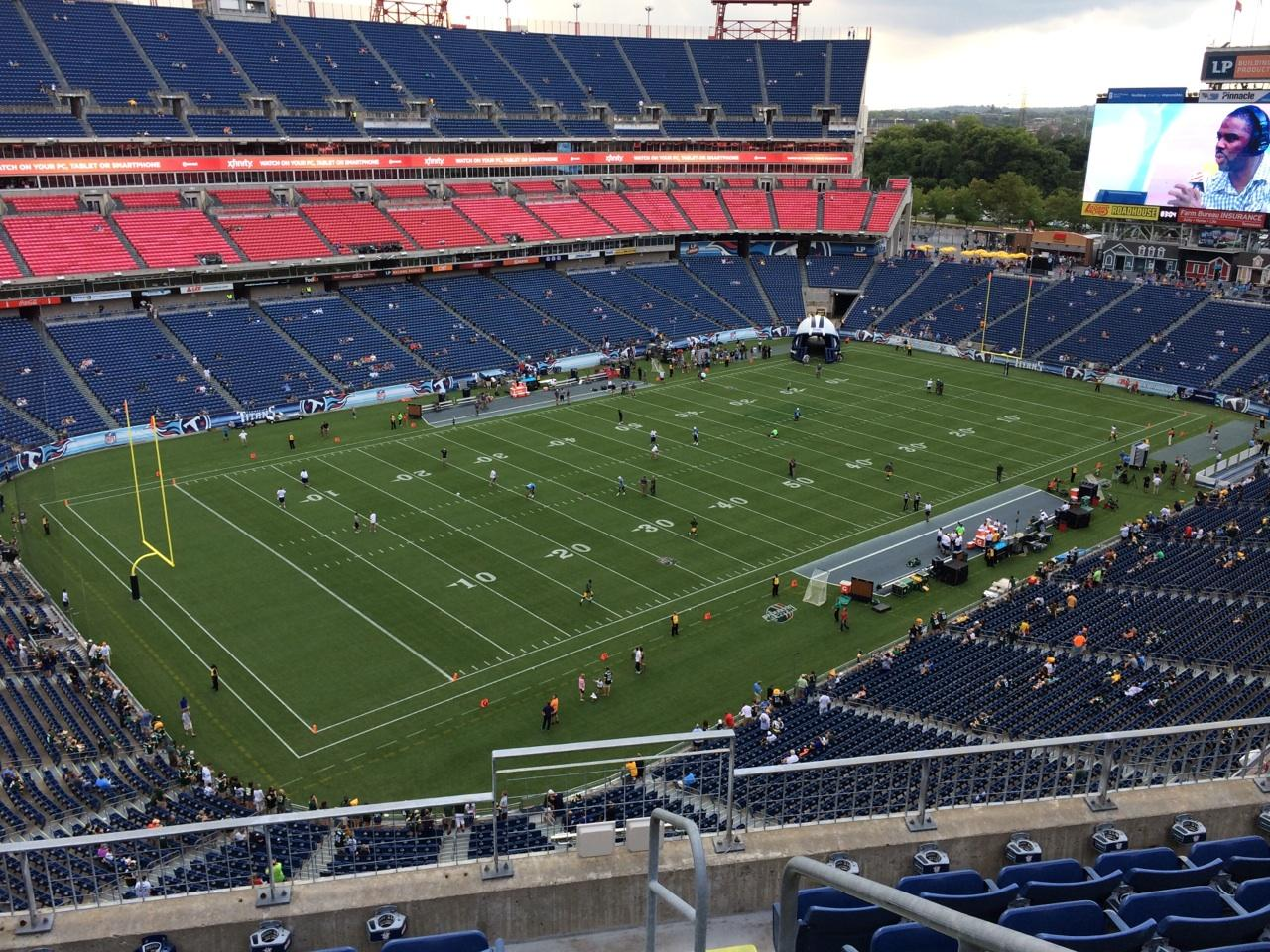 Nissan Stadium Section 319 - Tennessee Titans ...