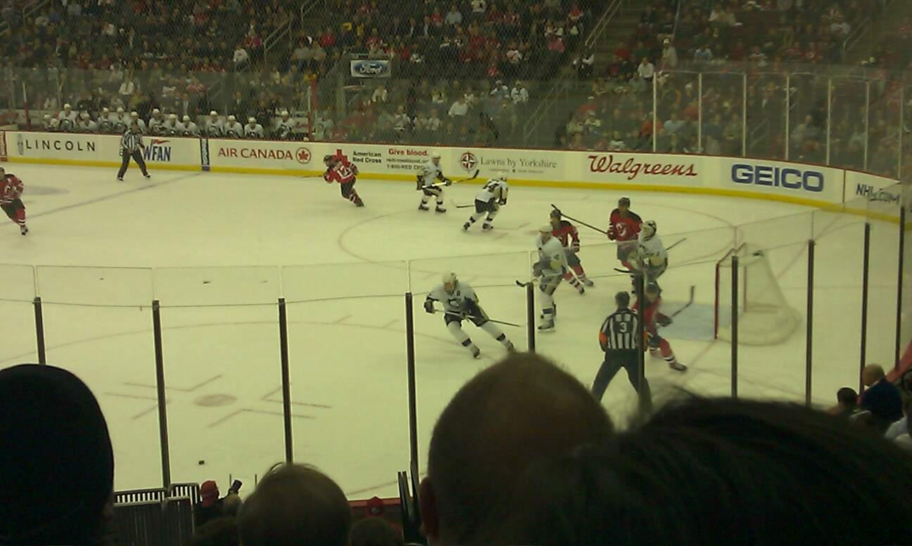 Prudential Center Section 22 Row 17 Seat 5
