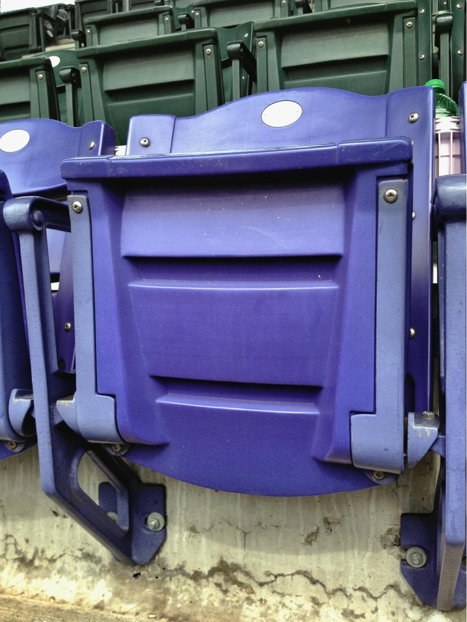 Coors Field Section U313 Row 20 Seat 3