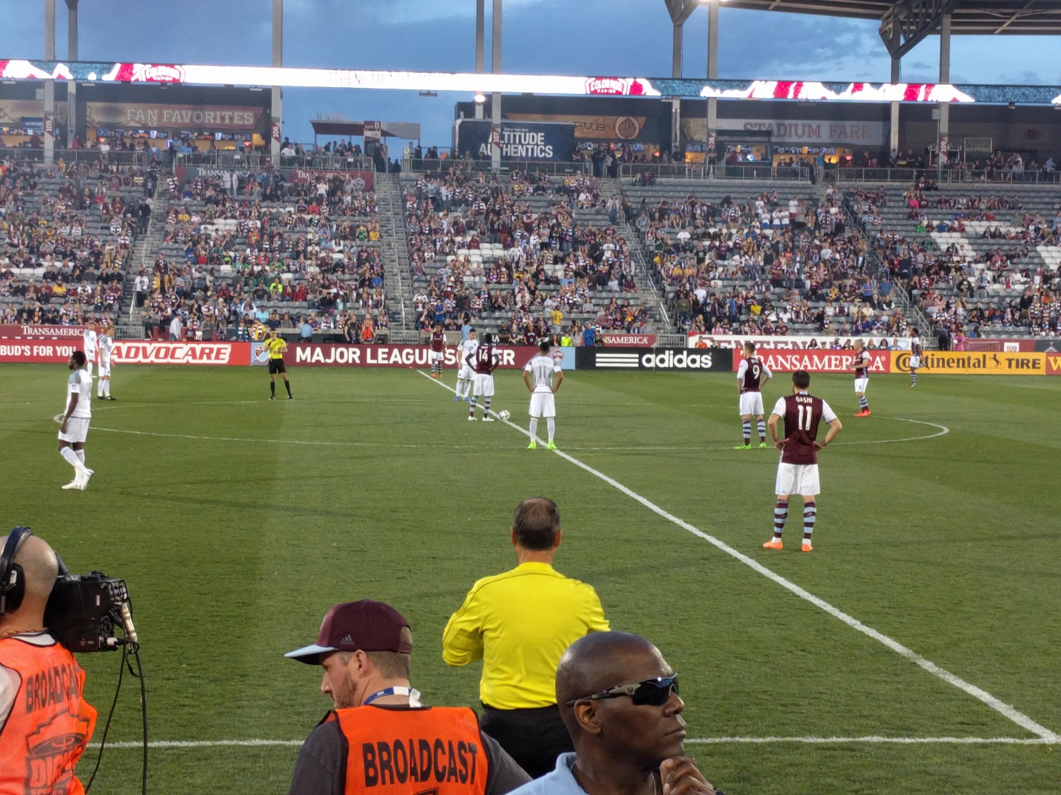 Dick's Sporting Goods Park Section 129 Row 3 Seat 7