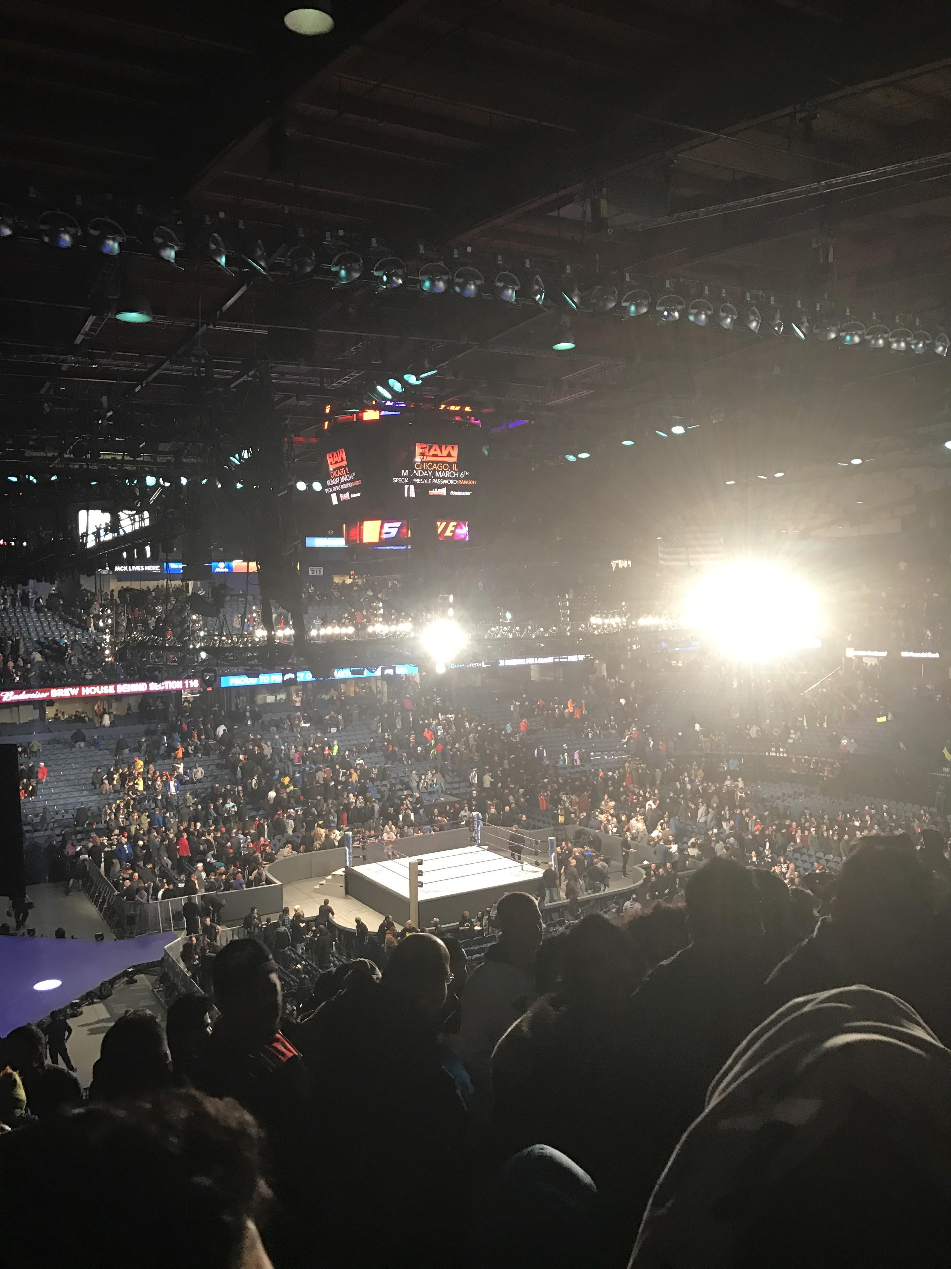 Allstate Arena Section 216 Row q  Seat 49