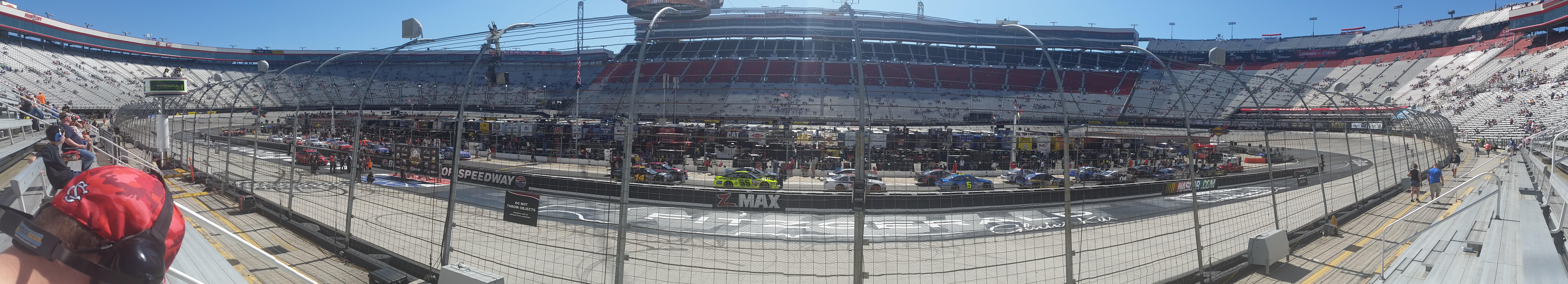 Bristol Motor Speedway Section The Allisons Row 1 Seat 3