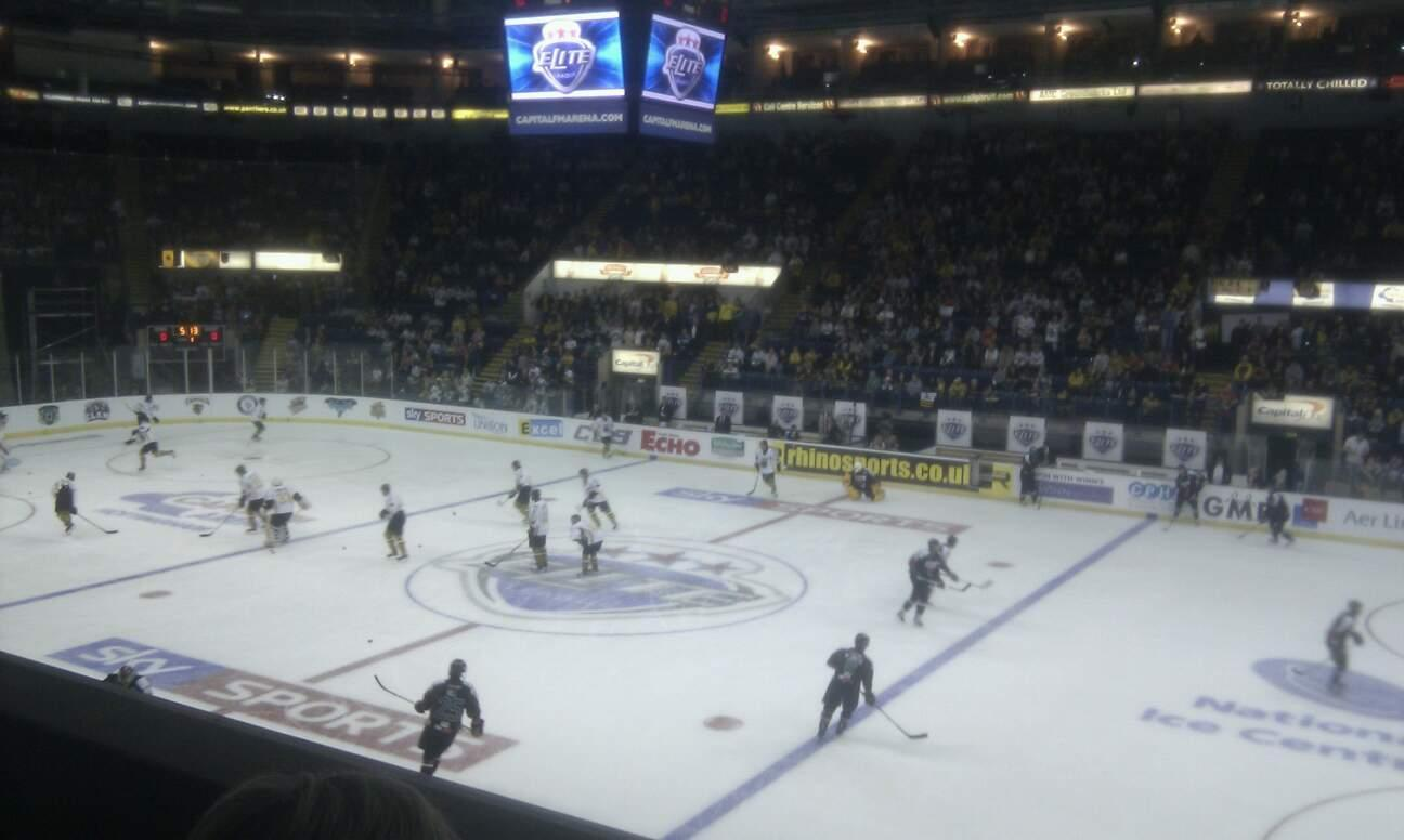 Motorpoint Arena Nottingham Section 6 Row M Seat 6