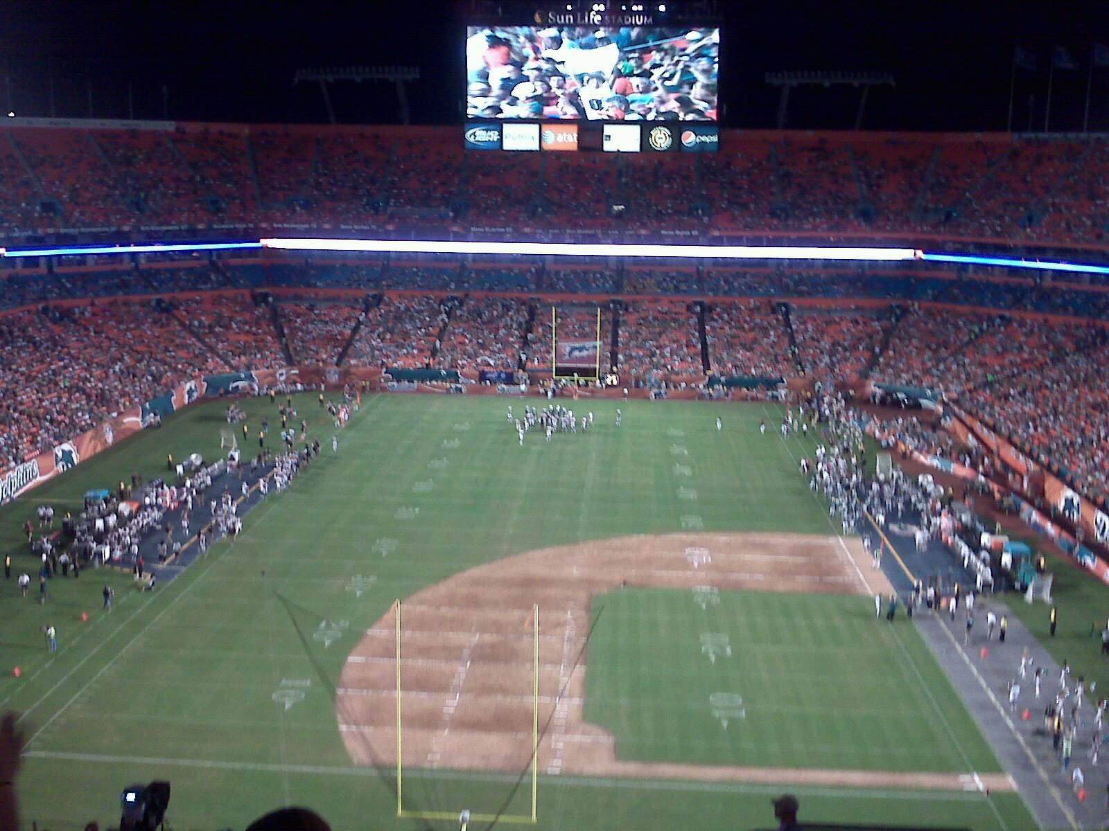 Hard Rock Stadium Section Old 456 Row 17 Seat 5