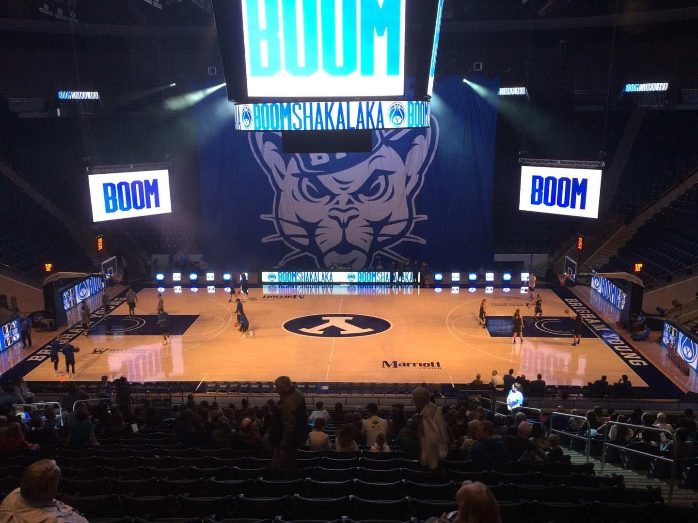 Marriott Center Section 9 Row 24 Seat 6