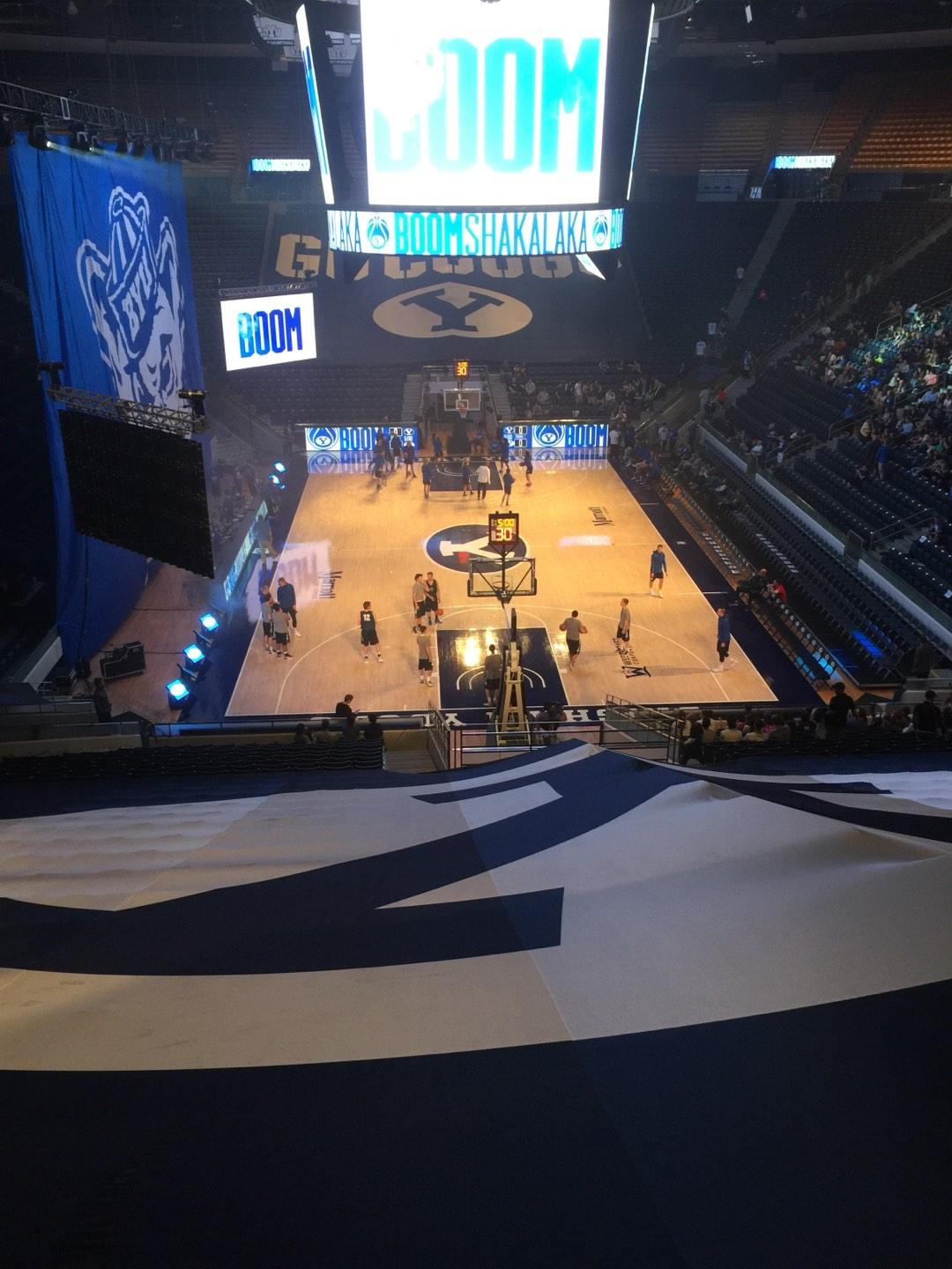 Marriott Center Section 15 Row 26 Seat 4