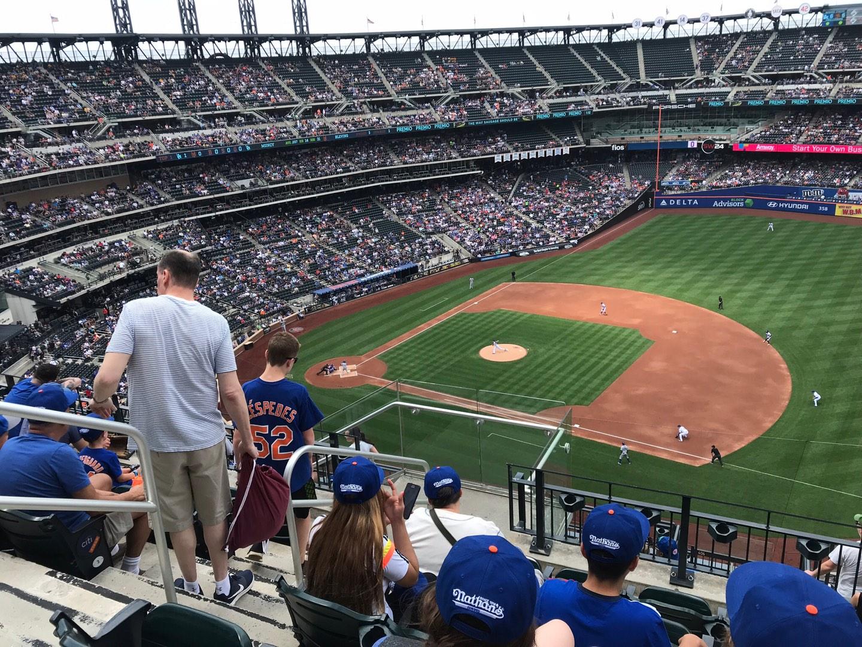 Citi Field Section 505 Row 6 Seat 1