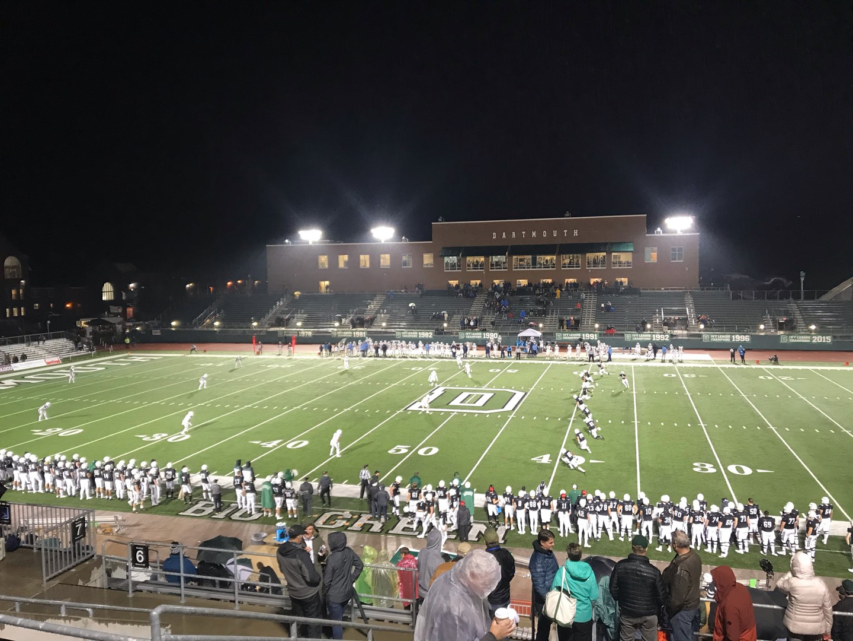 Memorial Field (Dartmouth) Section 5 Row KK Seat 18