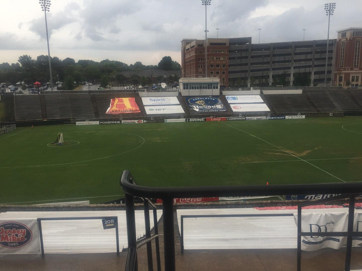 American Legion Memorial Stadium Section 11 Row GG Seat 2