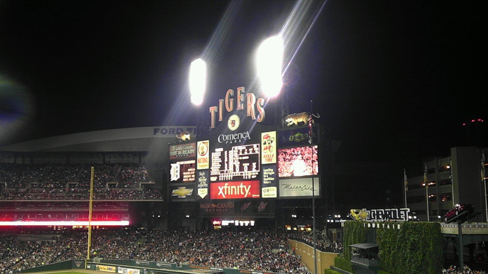 Comerica Park Standing Room Only