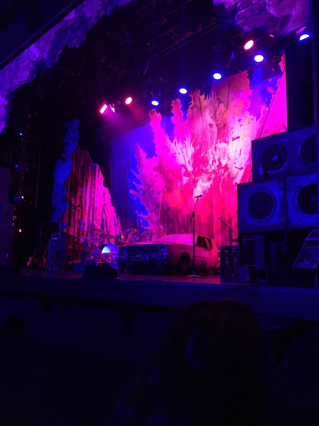Pantages Theatre (Hollywood) Section Orchestra RC Row B Seat 206