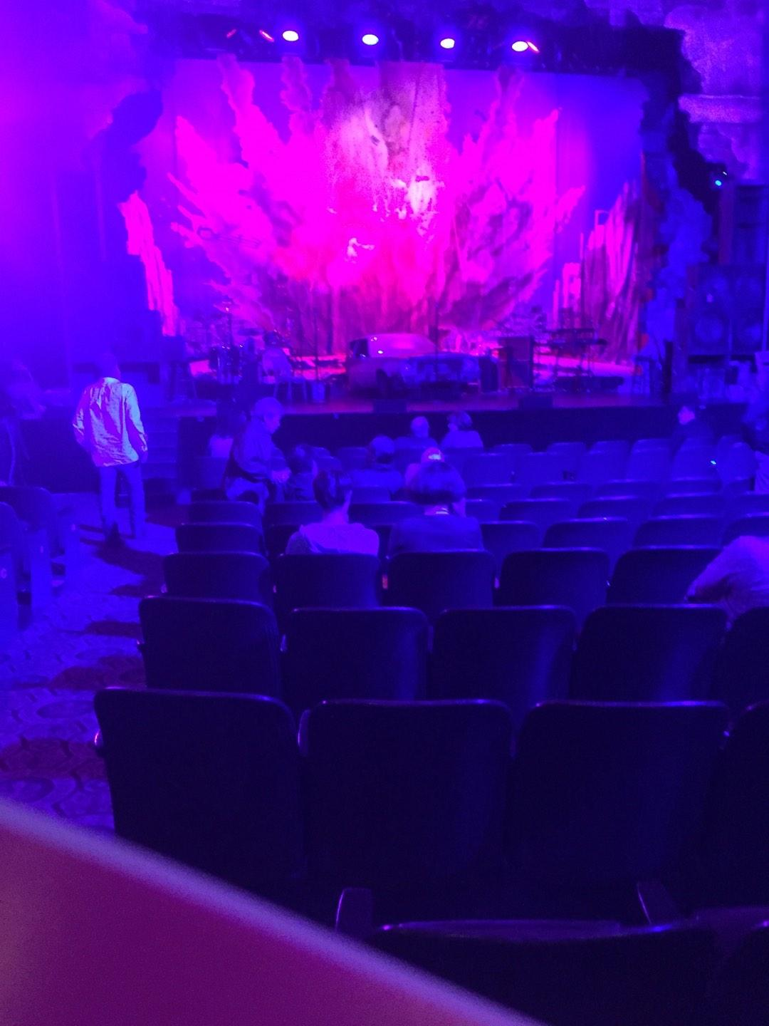 Golden Gate Theatre Section Orchestra Row J Seat 101