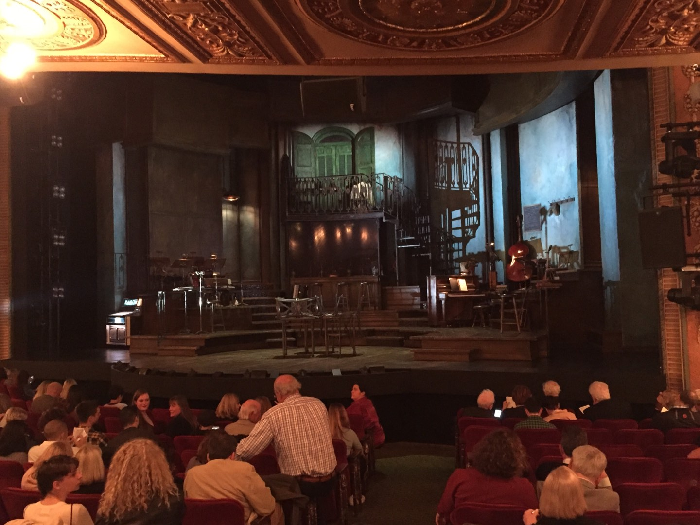 Walter Kerr Theatre Section Orchestra R Row O Seat 8