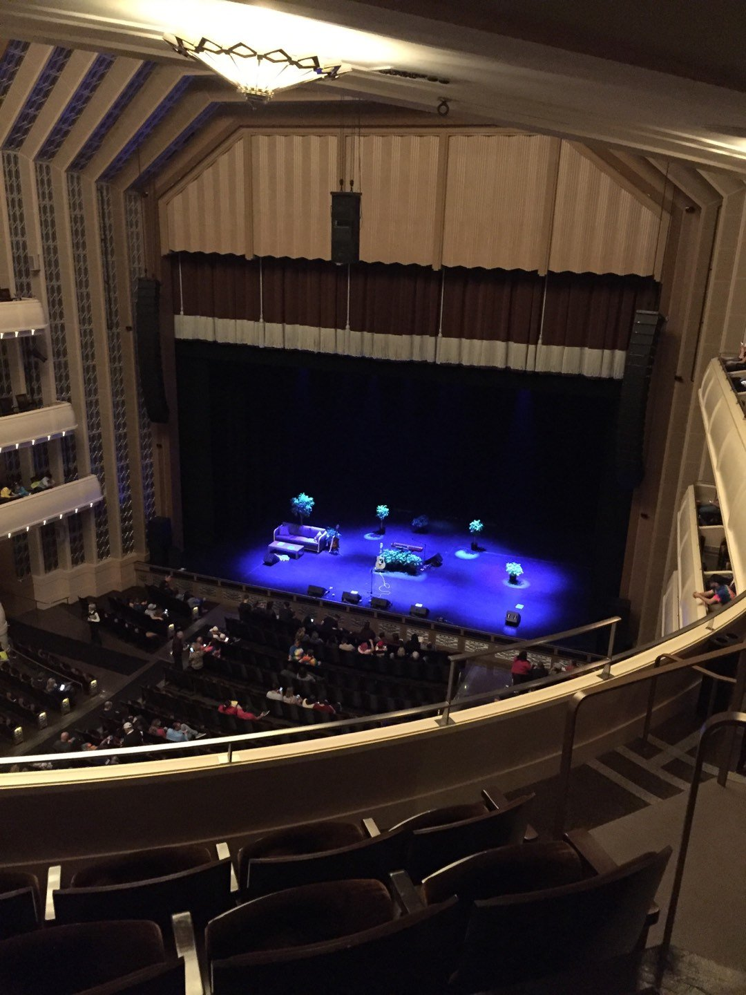 Reynolds Hall at The Smith Center Section Right Gallery Row D Seat 309