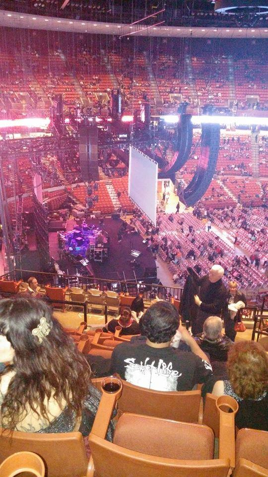 Concert Seat View for Frank Erwin Center Section 75, Row 14, Seat 2