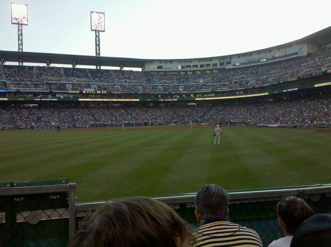 PNC Park Section 136 Row C Seat 24