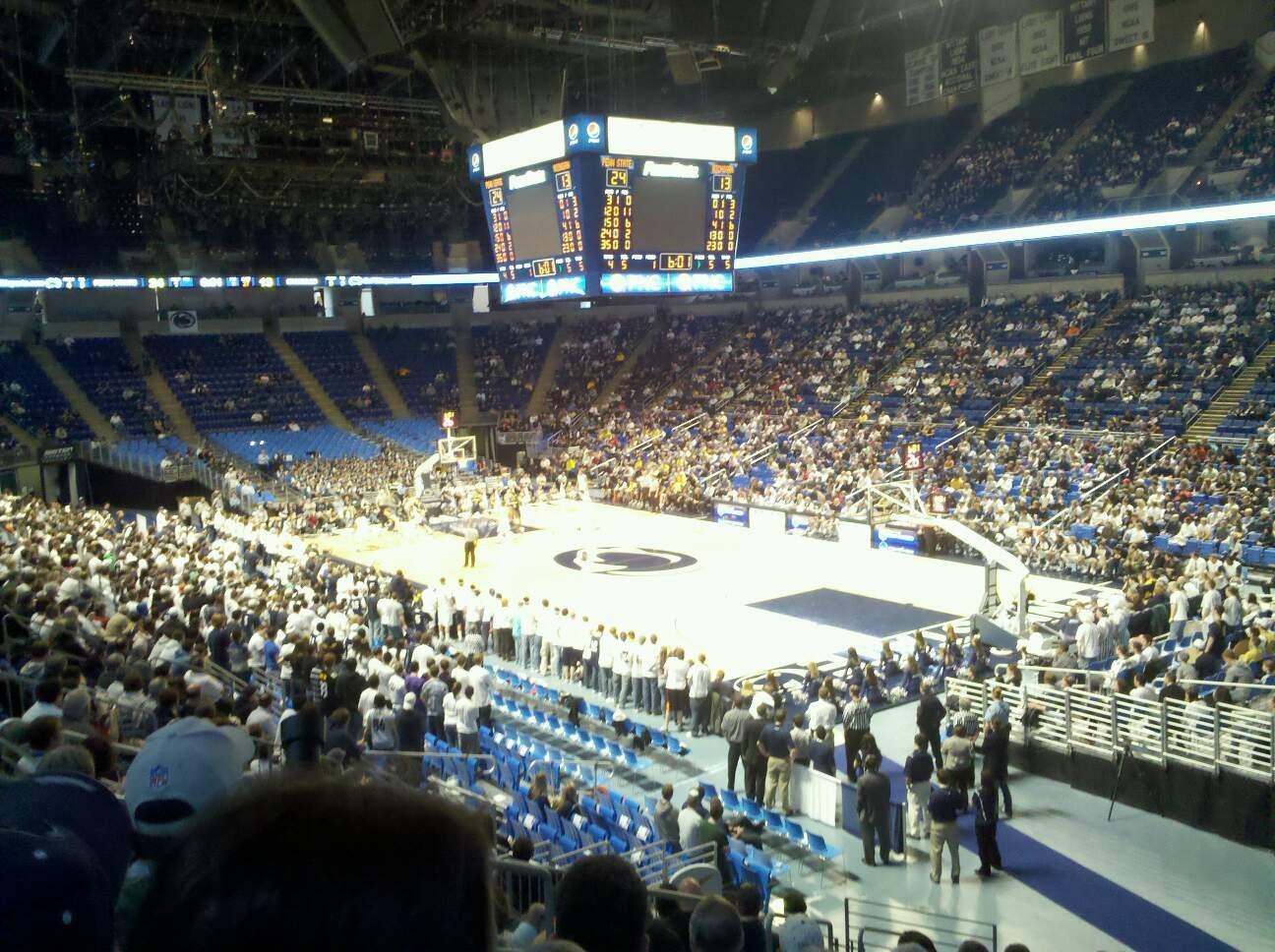 Bryce Jordan Center Section 118 Row M Seat 108