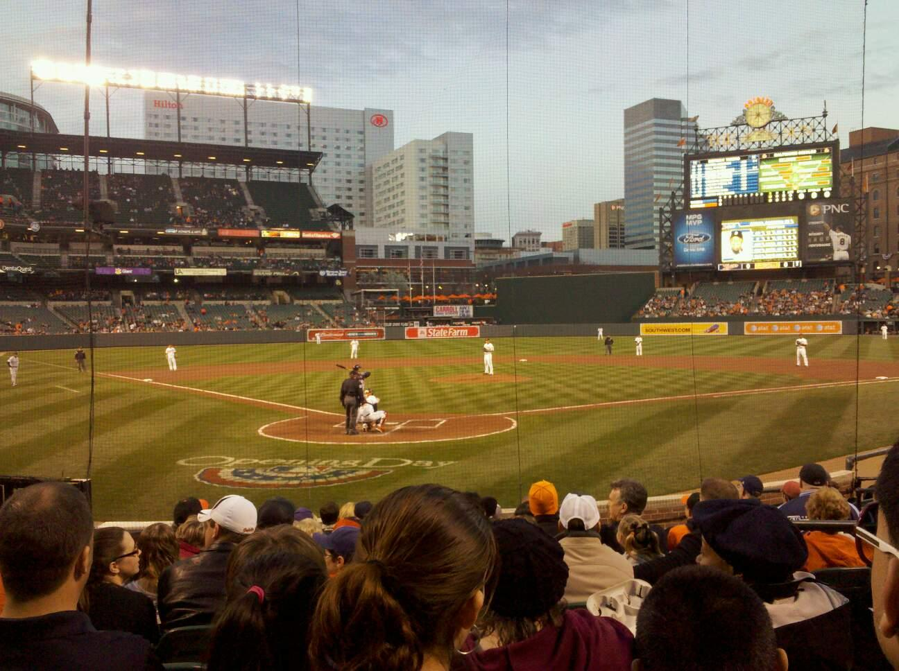 Oriole Park At Camden Yards Section 34 Row 13 Seat 3