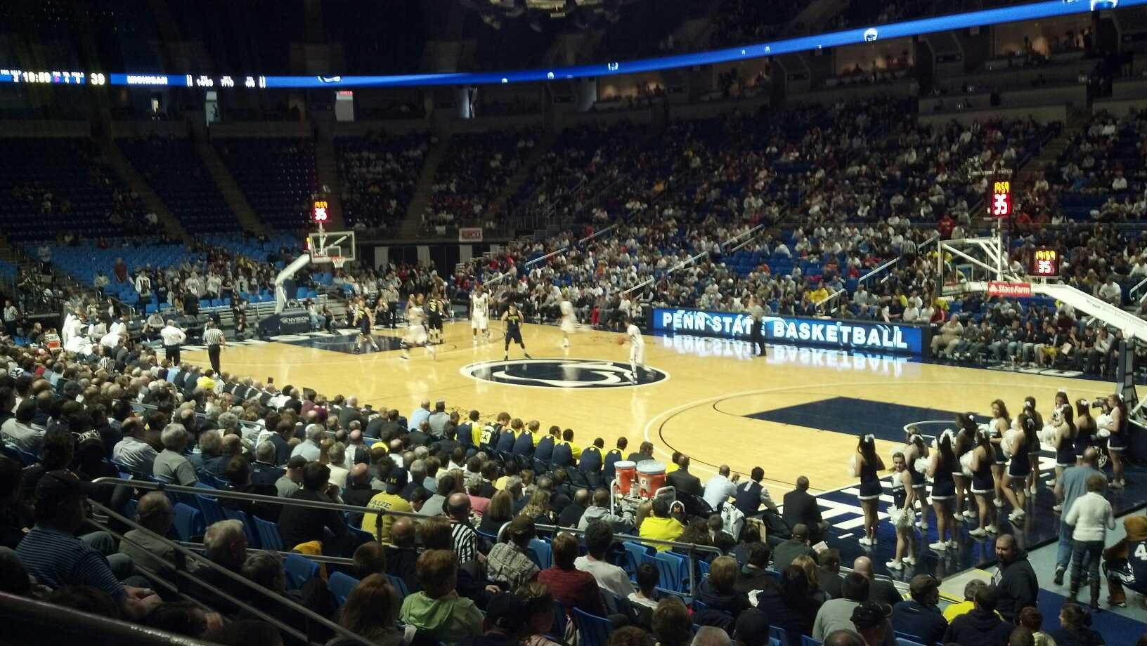 Bryce Jordan Center Section 102 Row D Seat 107 Penn