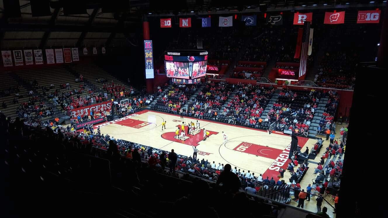 Rutgers Athletic Center Section 217 Row S Seat 4