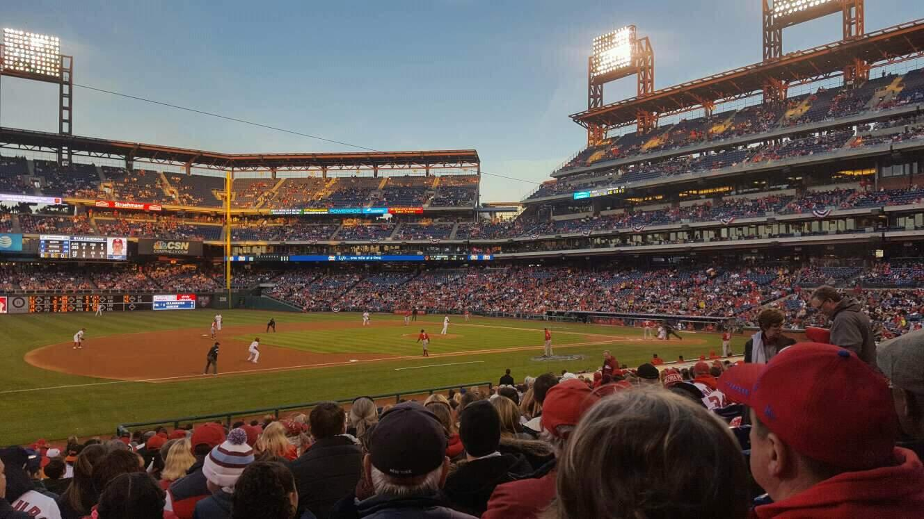 Citizens Bank Park Section 133 Row 23 Seat 13