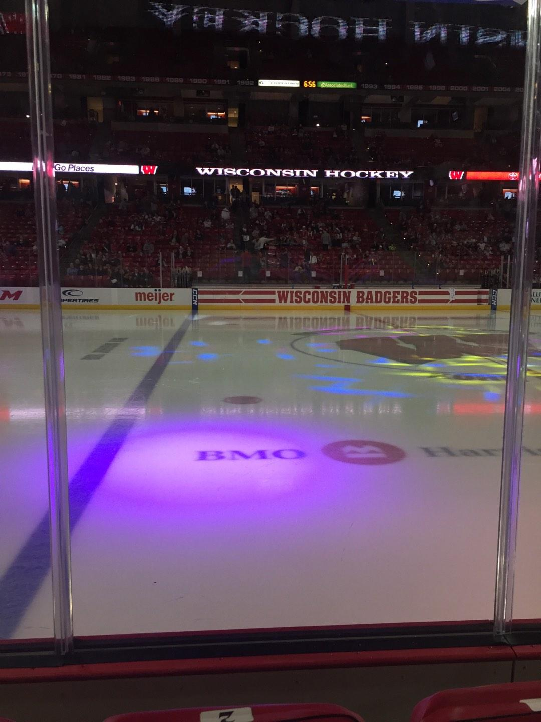 Kohl Center Section 109 Row B Seat 2