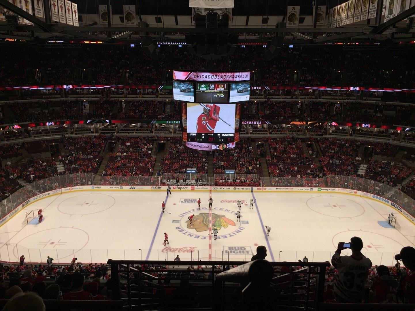 United Center Section 318 Row 11 Seat 1
