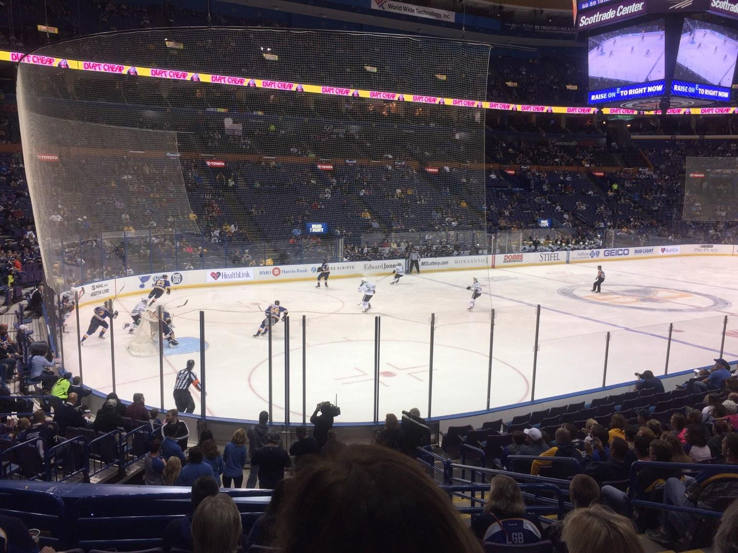 Scottrade Center Section 119 Row R Seat 4