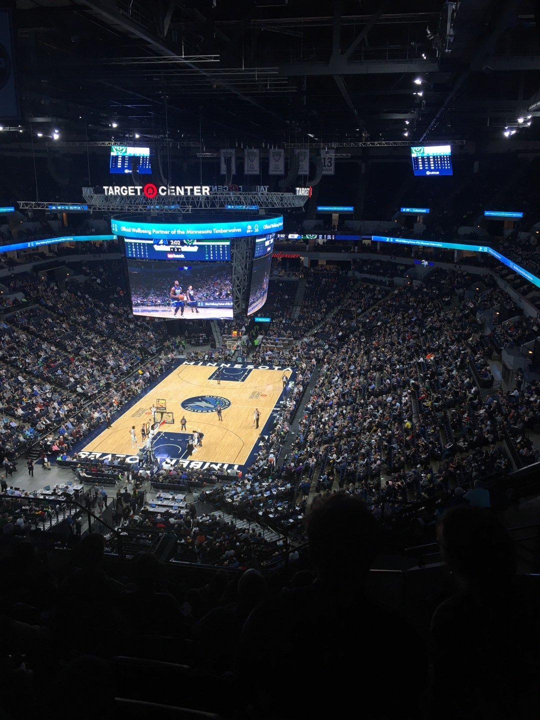 Target Center Section 239 Row Q Seat 4