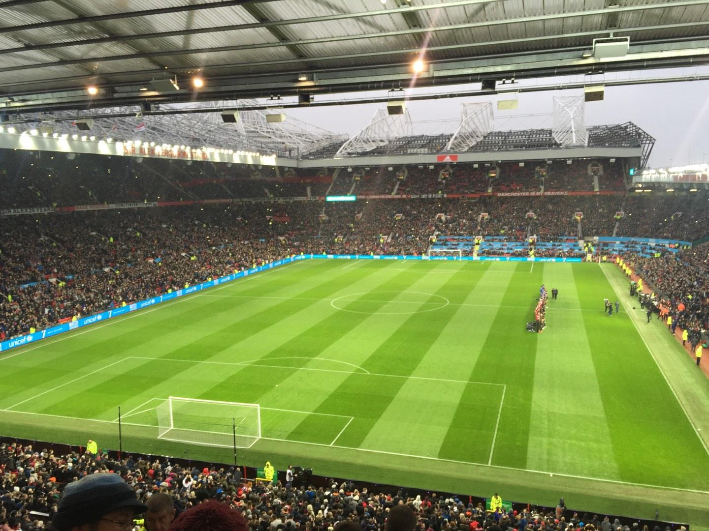 Old Trafford Section W3105 Row 6 Seat 41