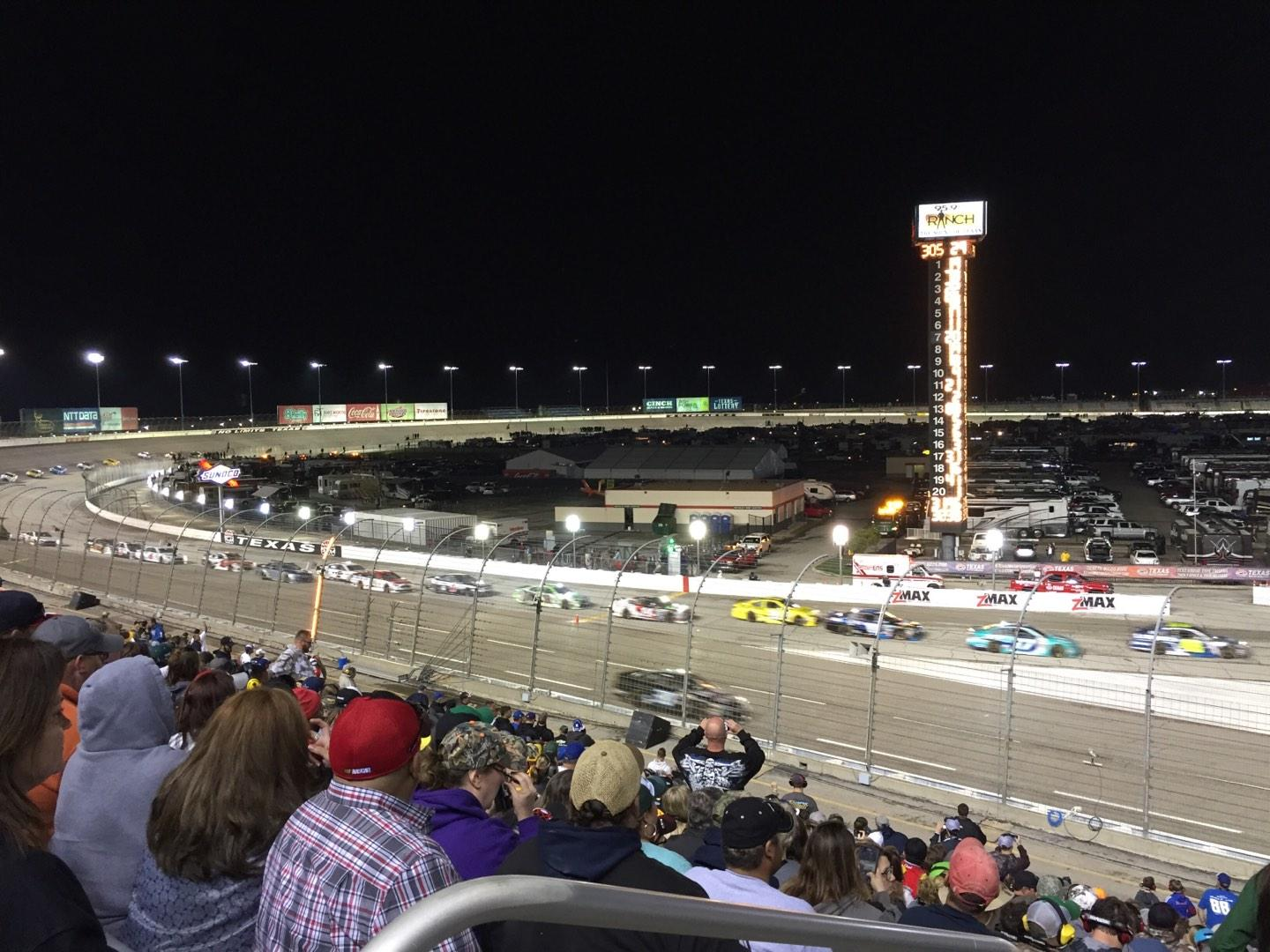 Texas Motor Speedway Section Pit Side Lower 422 Row 25 Seat 1