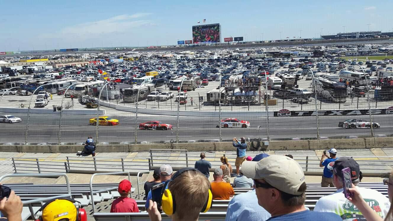 Texas Motor Speedway Section 137 Row 25 Seat 3