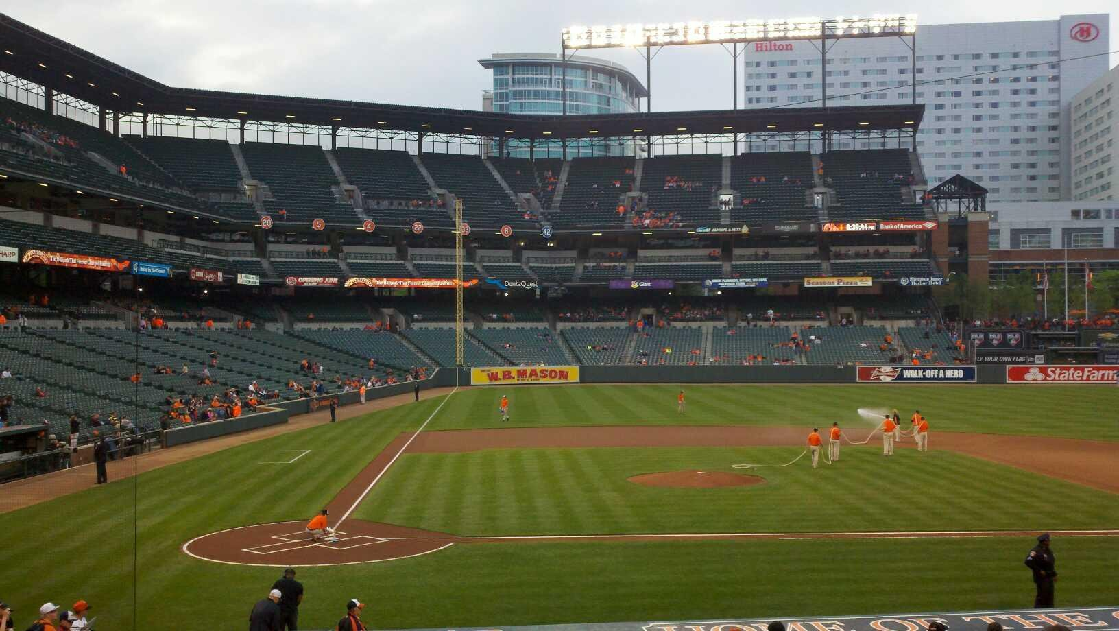 Oriole Park at Camden Yards Section 26 Row 21 Seat 10
