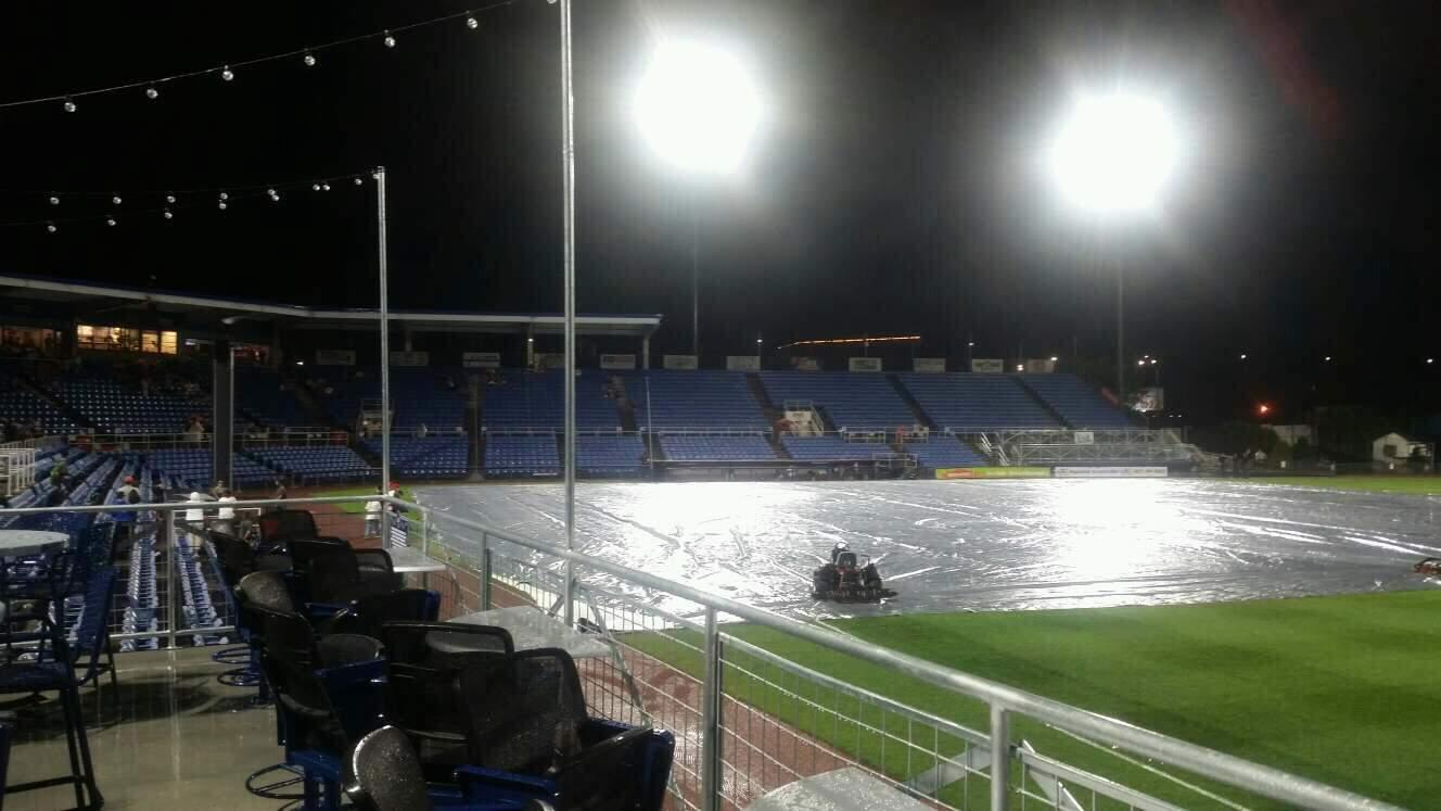 NYSEG Stadium Section deck
