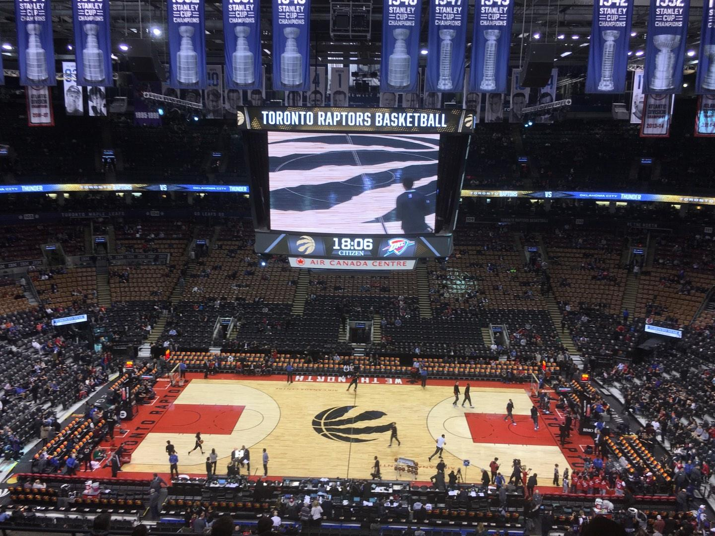 Scotiabank Arena Section 321 Row 9 Seat 10