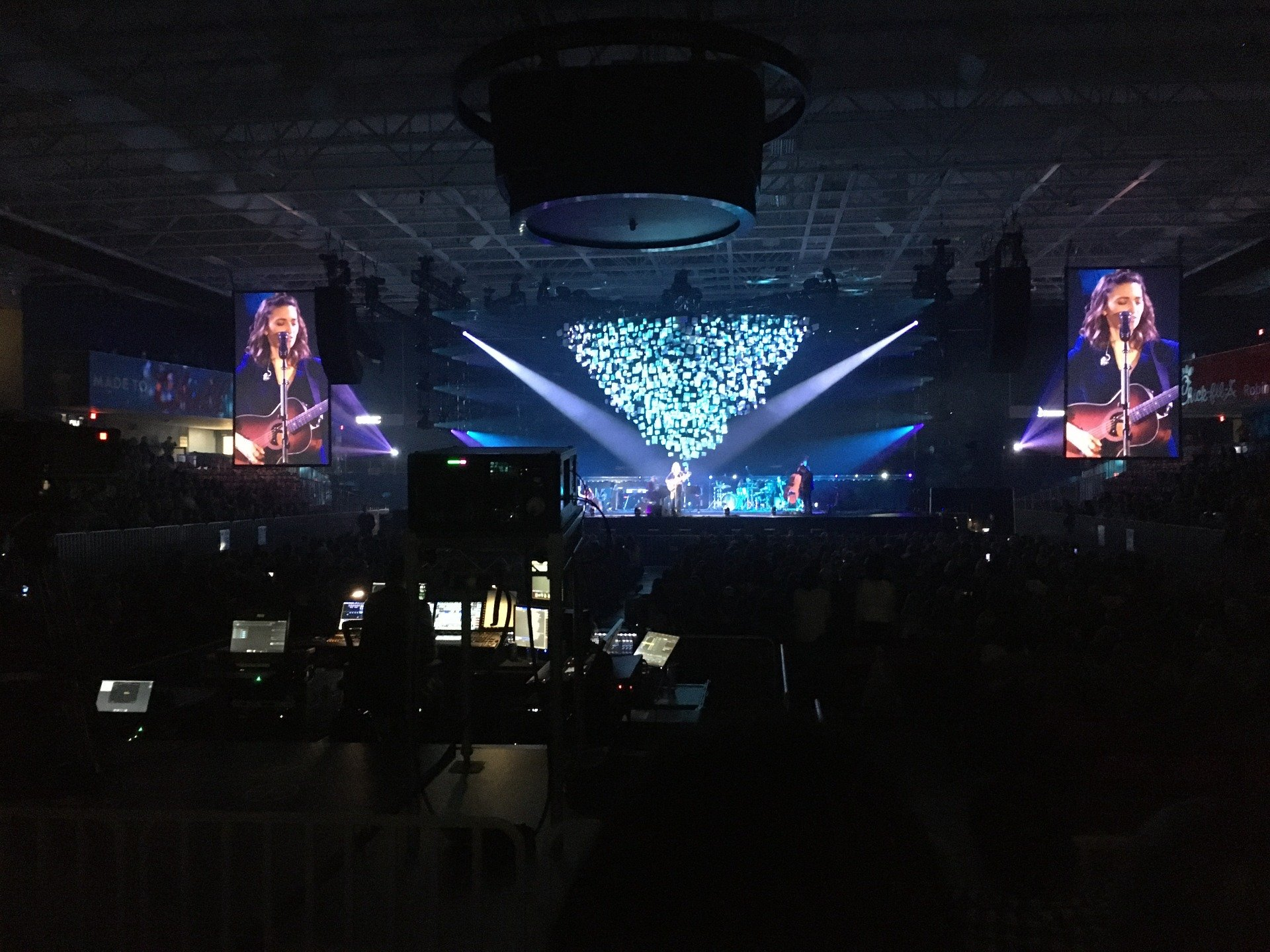 UPMC Events Center Section 110 Row D Seat 6