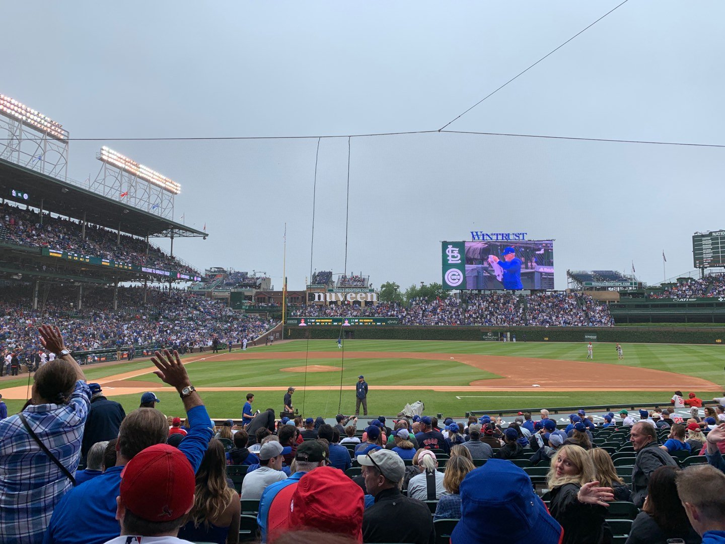 Wrigley Field Section 123 Row 7 Seat 7